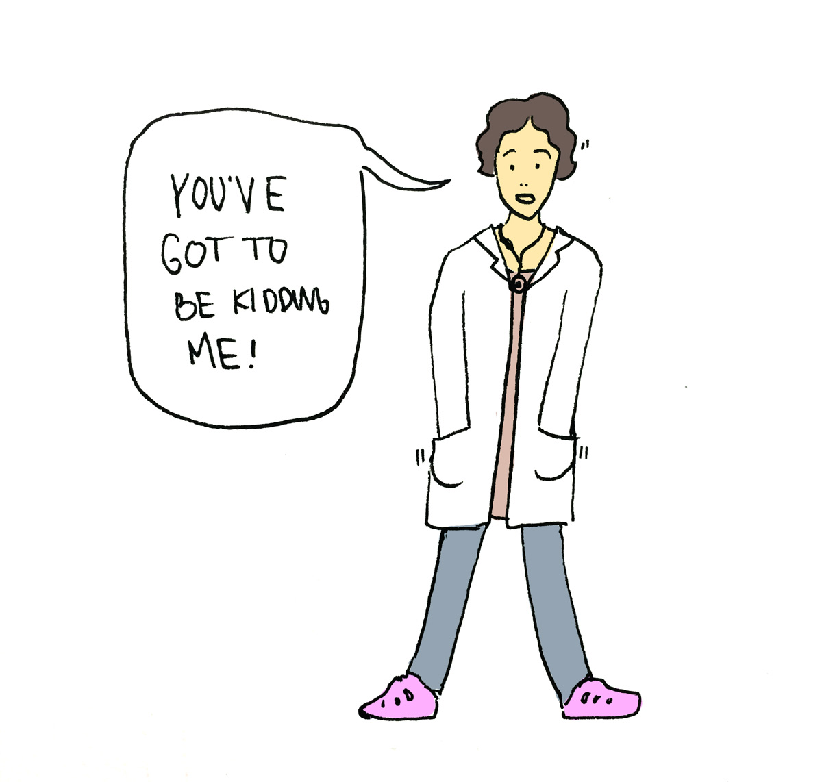 You've got to be kidding me - doctor comic