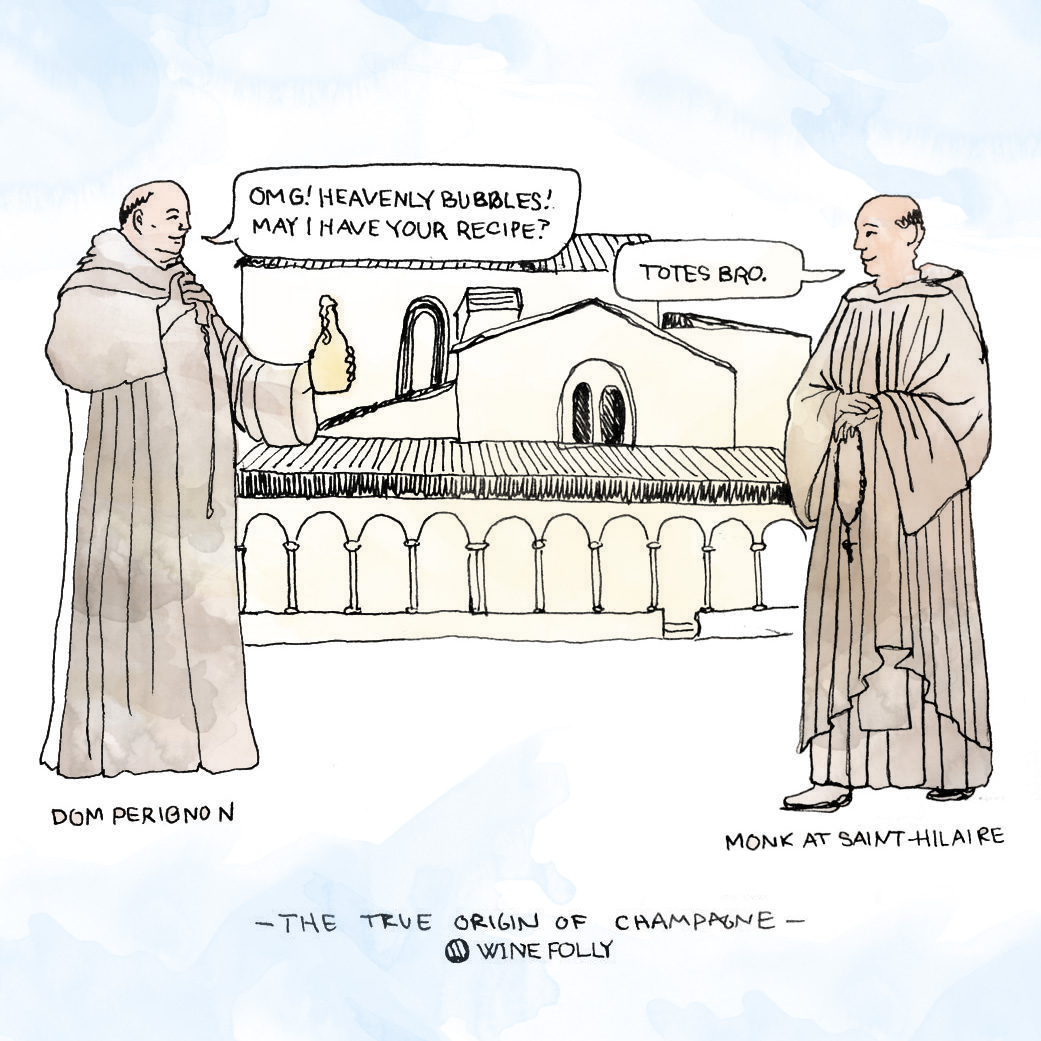 dom-perignon-hilaire-monks-cistercian-illustration-winefolly