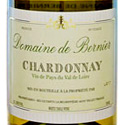 Domaine de Bernier unoaked chardonnay, Loire Valley, France