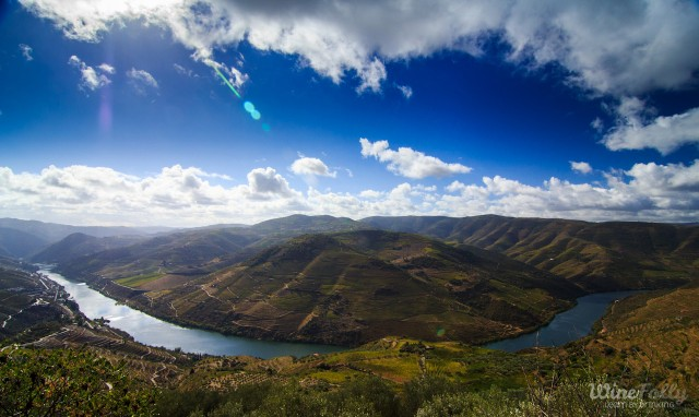 Douro Wine Country view over Casal de Loivos