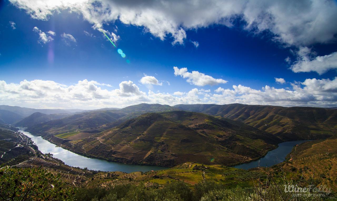 Douro Wine Country view over Casal de Loivos