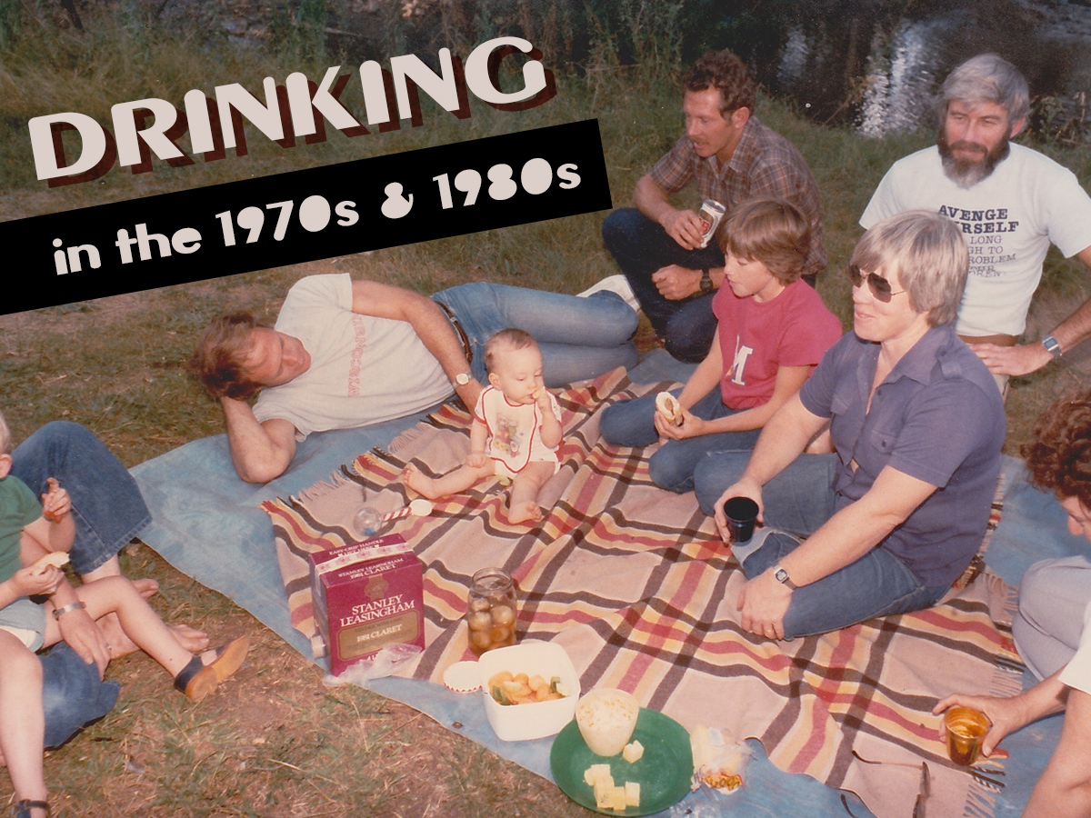 Drinking Wine in the 1970s and 1980s