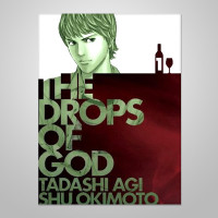drops of god Wine Comic Book