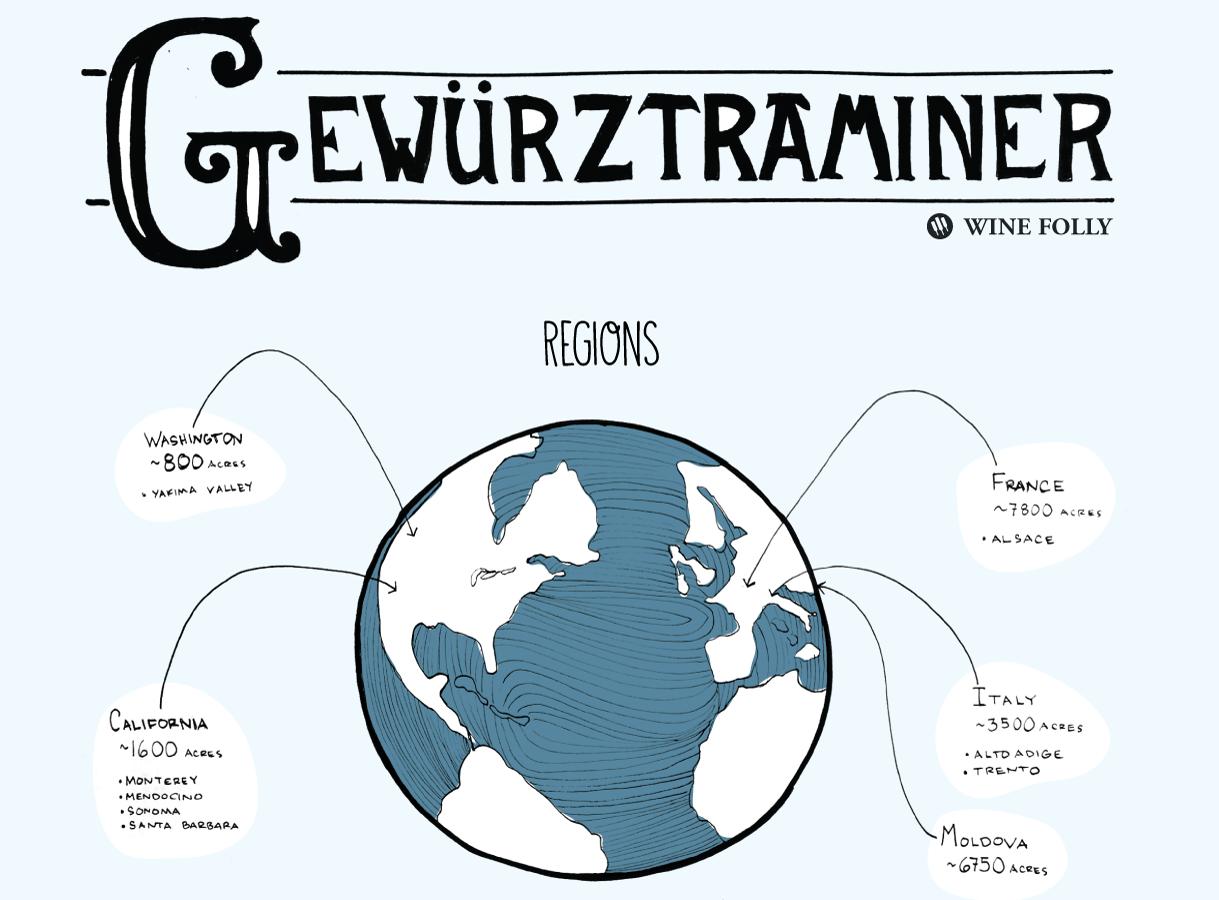 dry-gewurztraminer-regions