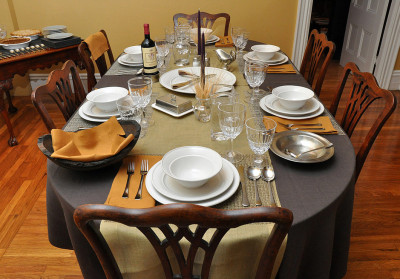 elegant dinner party ideas with wine