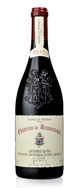 Image of a bottle Famille Perrin Chateau de Beaucastel Chateauneuf-du-Pape wine