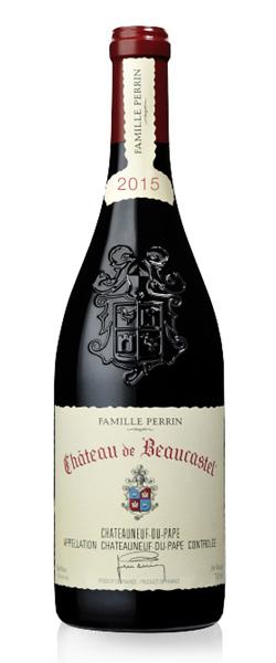 Image of a bottle Famille Perrin Chateau de Beaucastel Chateauneuf-du-Pape wine
