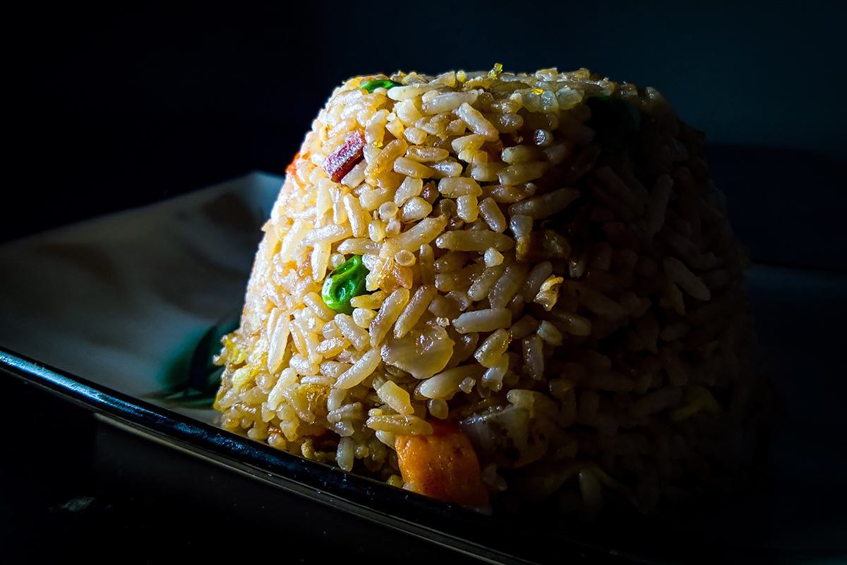 A place of fried rice.
