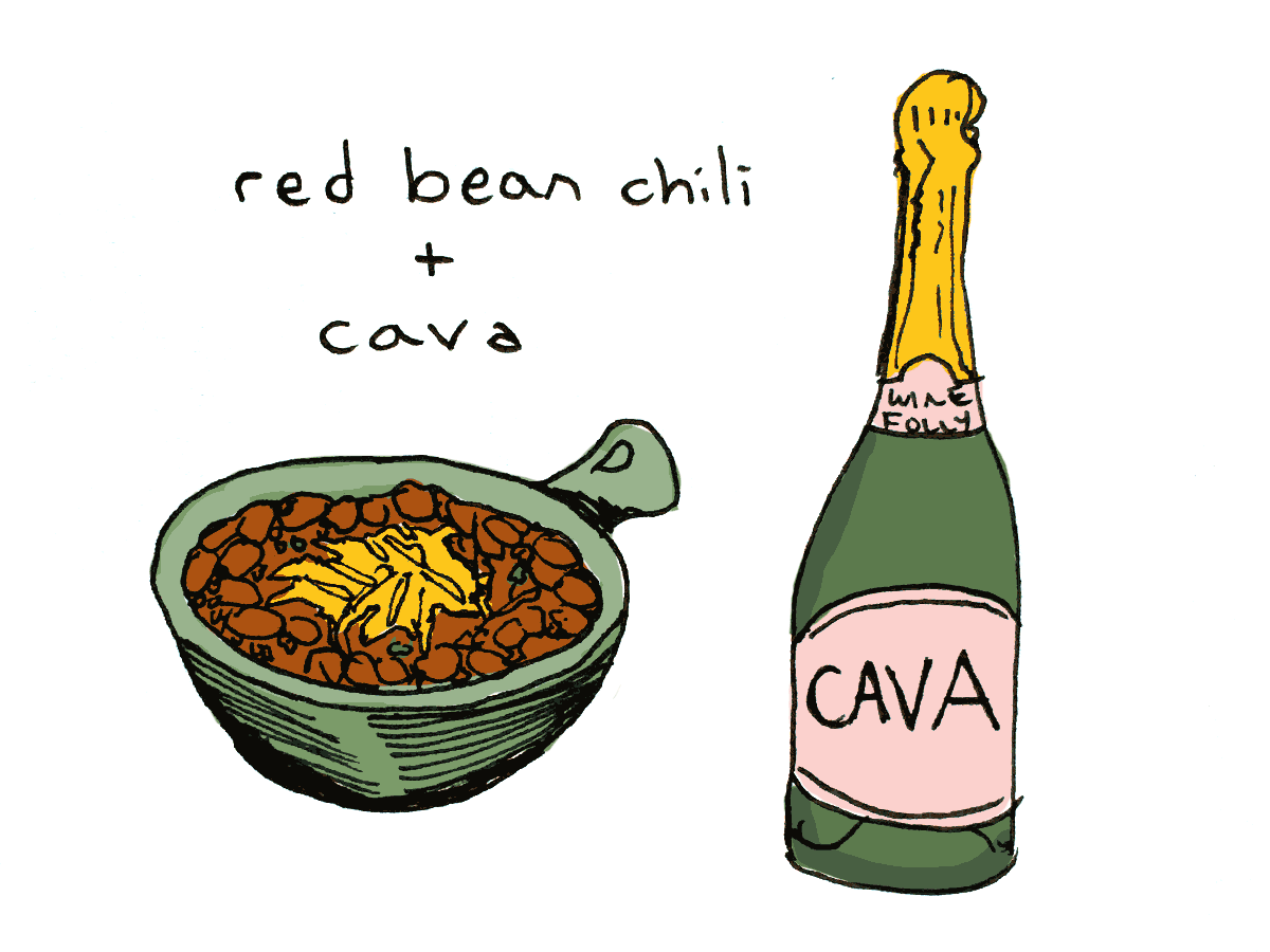 Pairing wine with chili