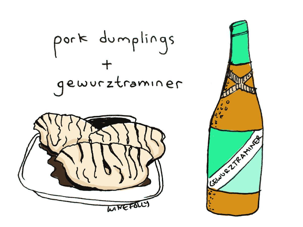 pairing wine with dim sum
