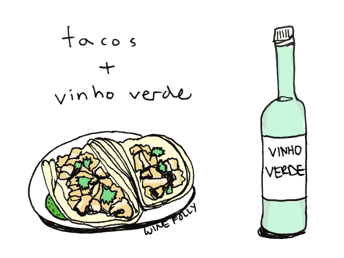 pairing wine with tacos