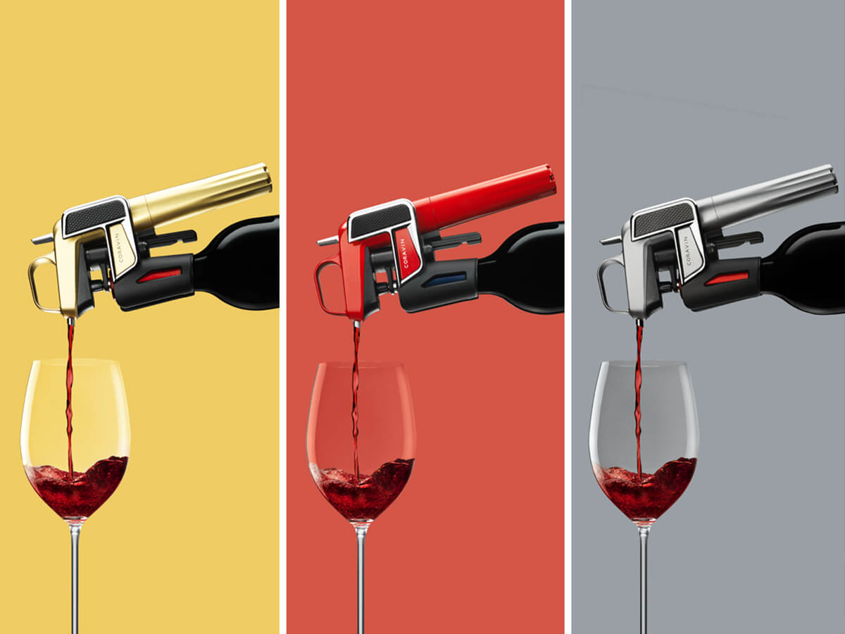 The coravin wine preserver with argon gas - gifts for wine lovers