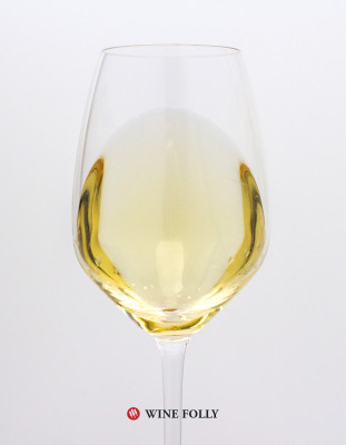 glass of Viognier