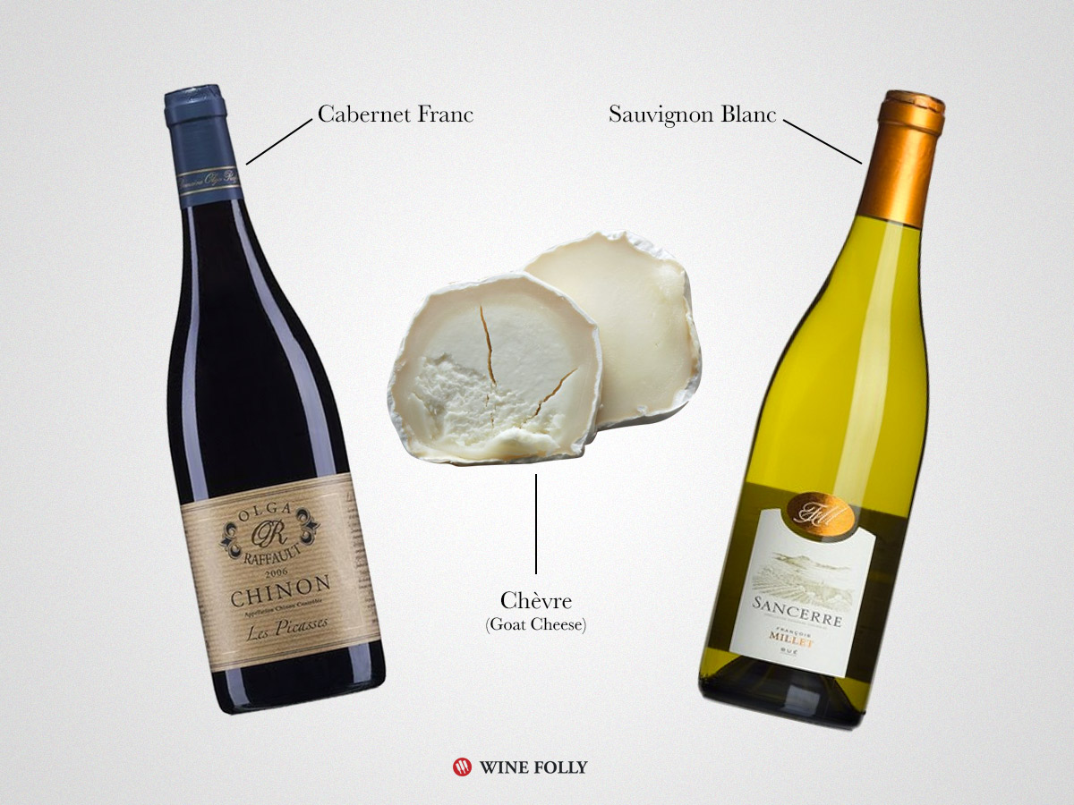 Goat Cheese Wine Pairings by Wine Folly