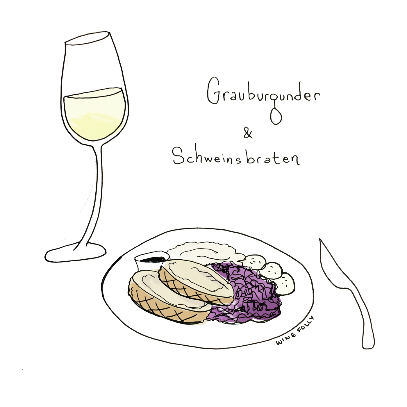 Grauburgunder (aka Pinot Gris) Germany Wine and Food Pairing