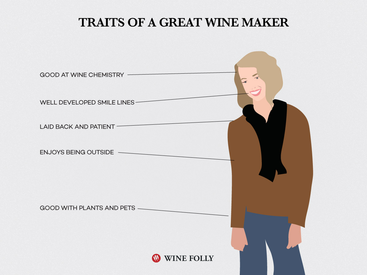 Traits of a Great Winemaker Infographic