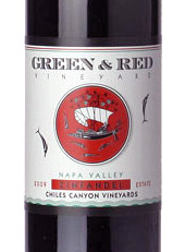 Green and Red Chile Valley Estate Zinfandel 2009