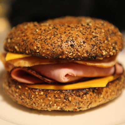 ham-everything-bagel-with-cheese