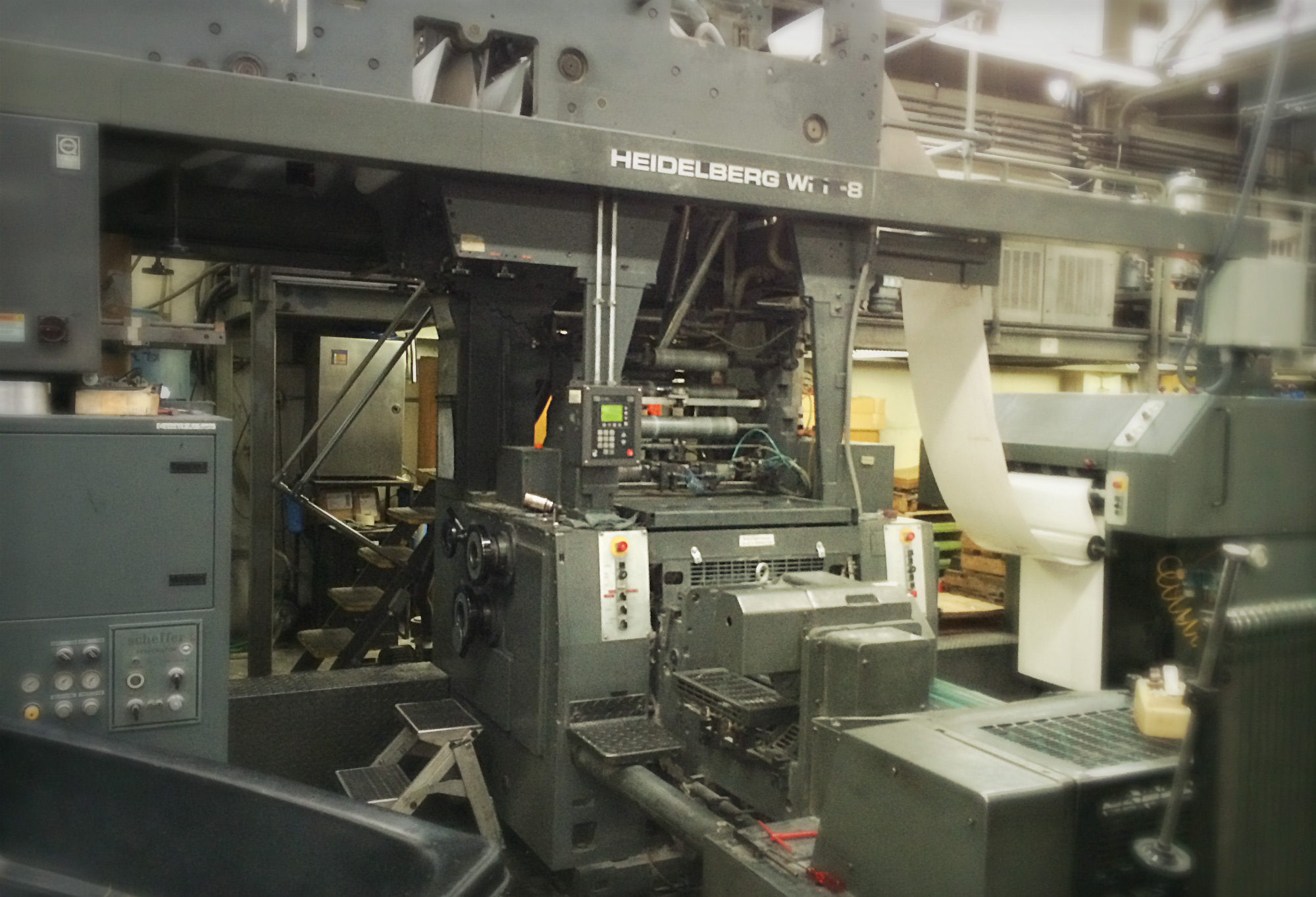 Heidelberg press for offset printing in Seattle, WA