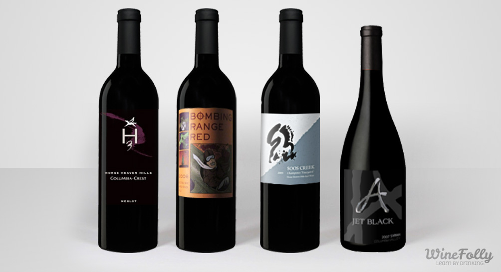 Red Wines From Horse Heaven Hills