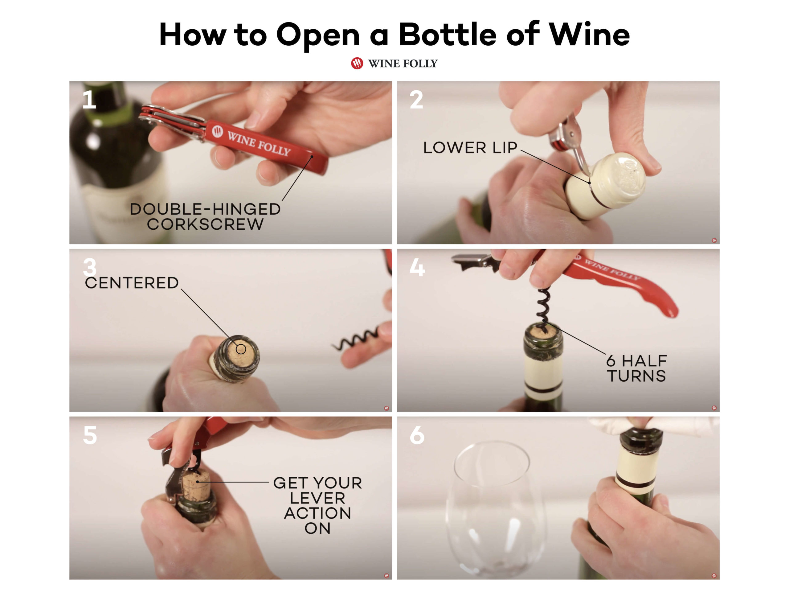 how-to-open-wine-in-pictures