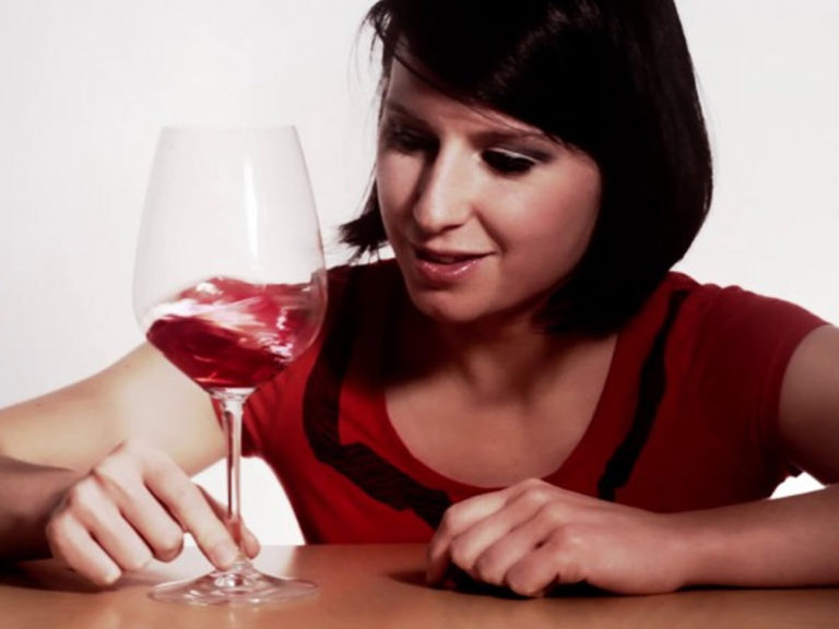 Madeline Puckette - how-to-swirl-wine