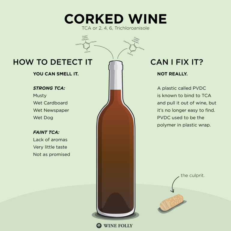 Corked Wine Infographic