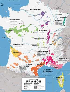 Wine Folly Maps