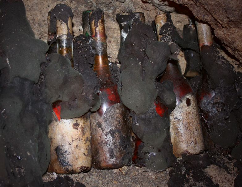 Hungarian Tokaji Cellar with Black Mold