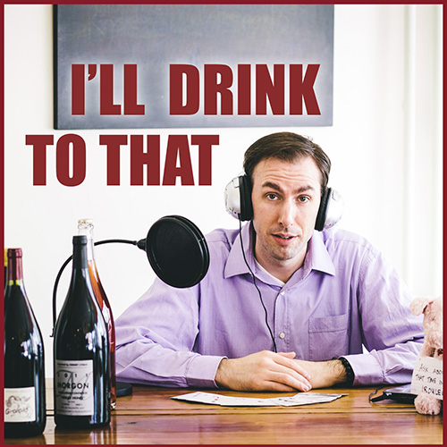 I'll Drink to That Wine Podcast logo