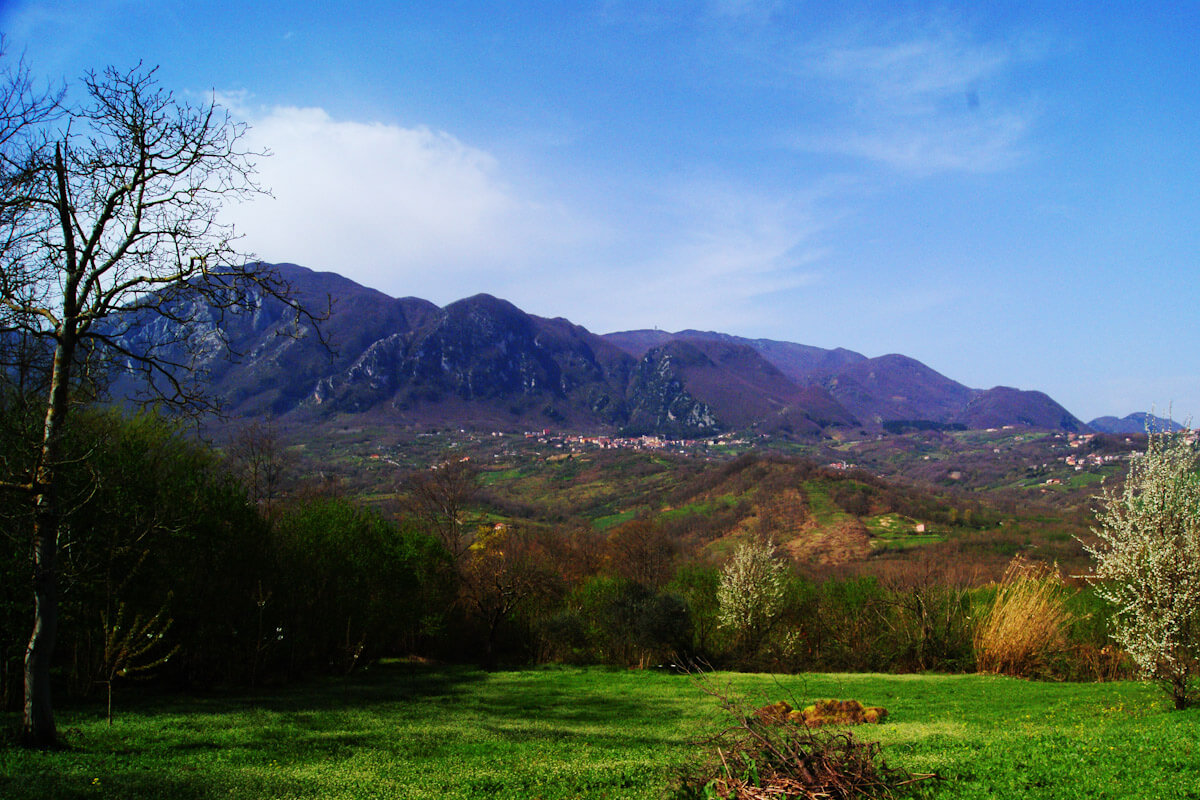 The hills of Irpinia.