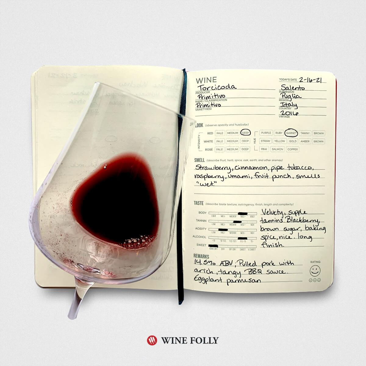 italian-primitivo-zinfandel-tasting-notes-wine-journal