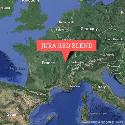 Jura 18 grape red blend wine