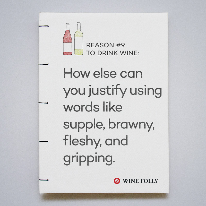 How else can you justify using words like supple, brawny, fleshy and gripping