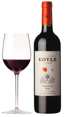 Chilean Carmenere  Red Wine Glass Koyle