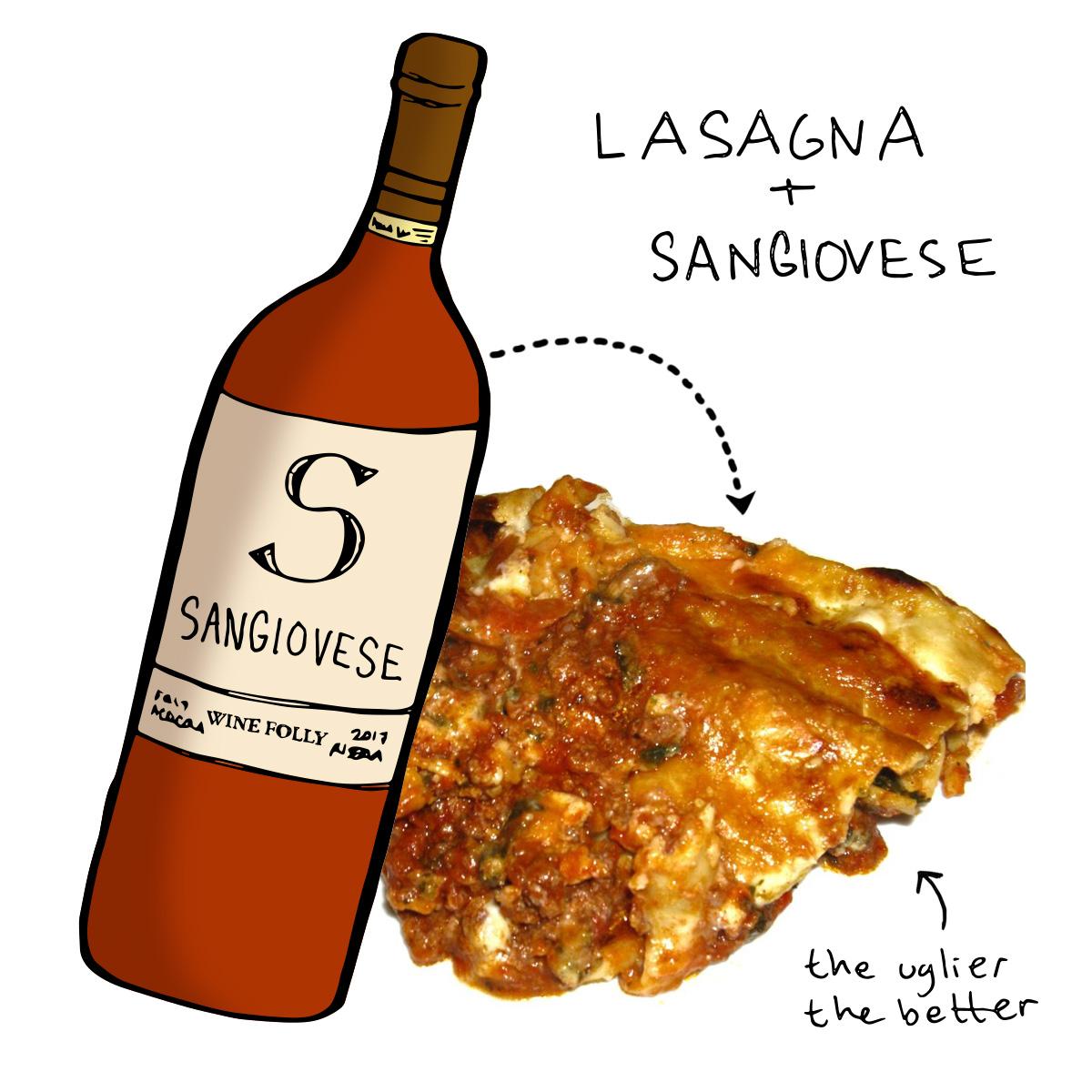 lasagna-wine-pairing-sangiovese-winefolly