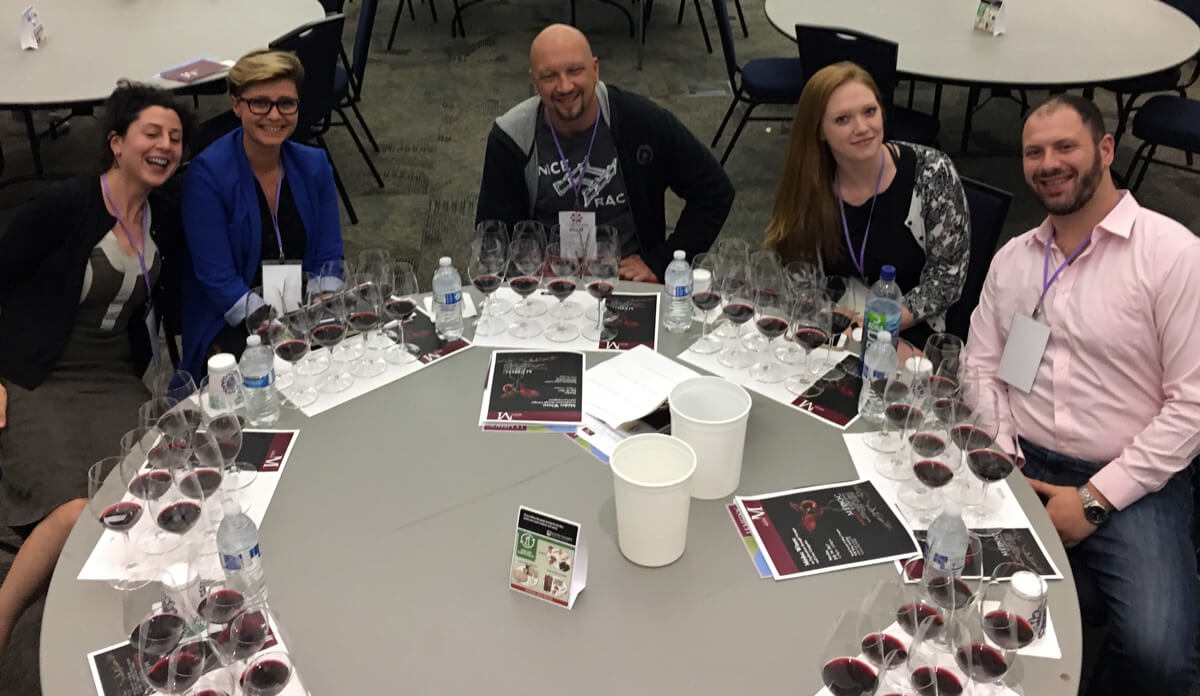 Learning about wine is fun - Wine Education seminar on Bordeaux wines in Seattle