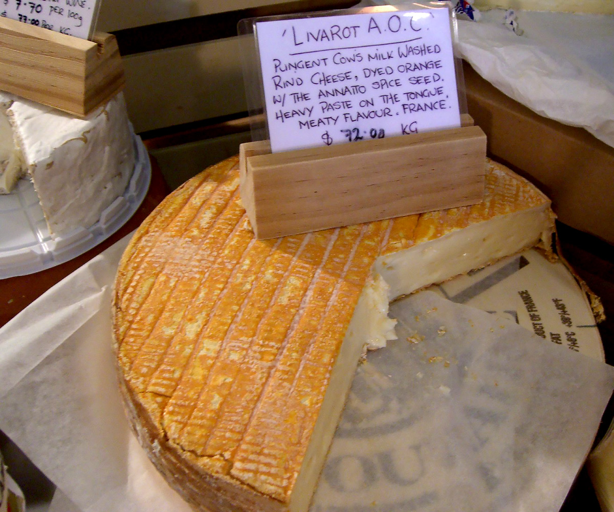 Livarot French Cheese by Alpha