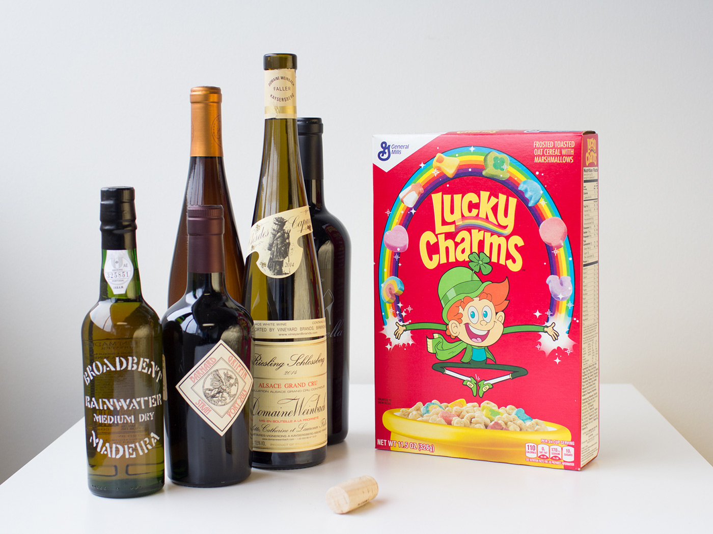 lucky-charms-and-wine pairing