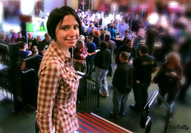 Madeline Puckette at the Zinfandel Festival