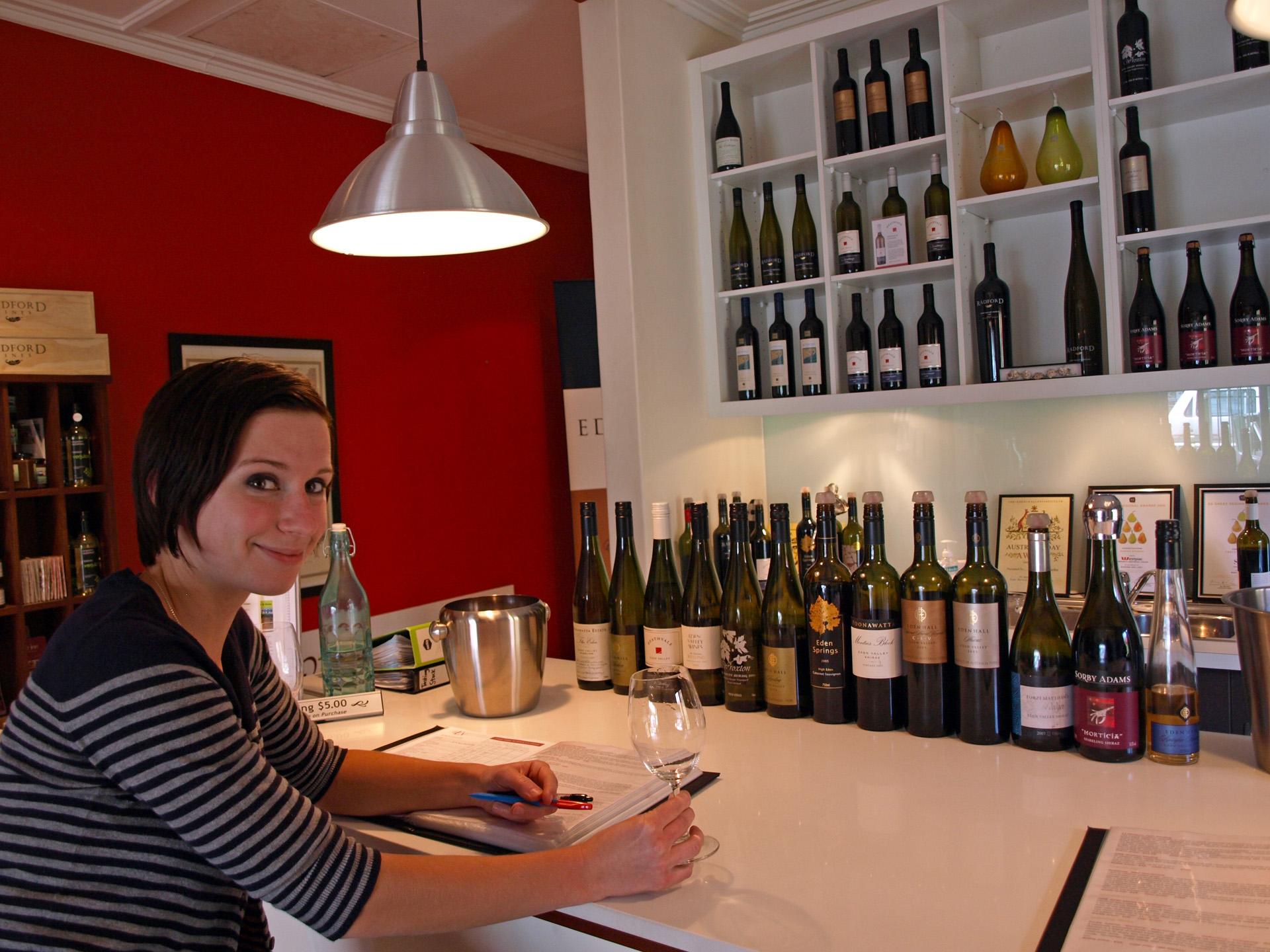 Madeline Puckette Australia Tasting Room