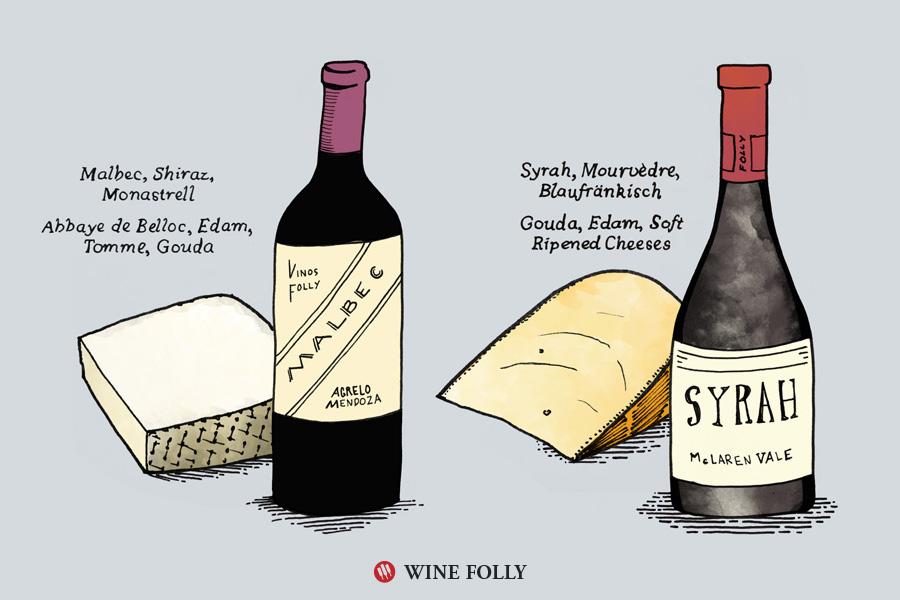 malbec-syrah-cheese-pairing-winefolly