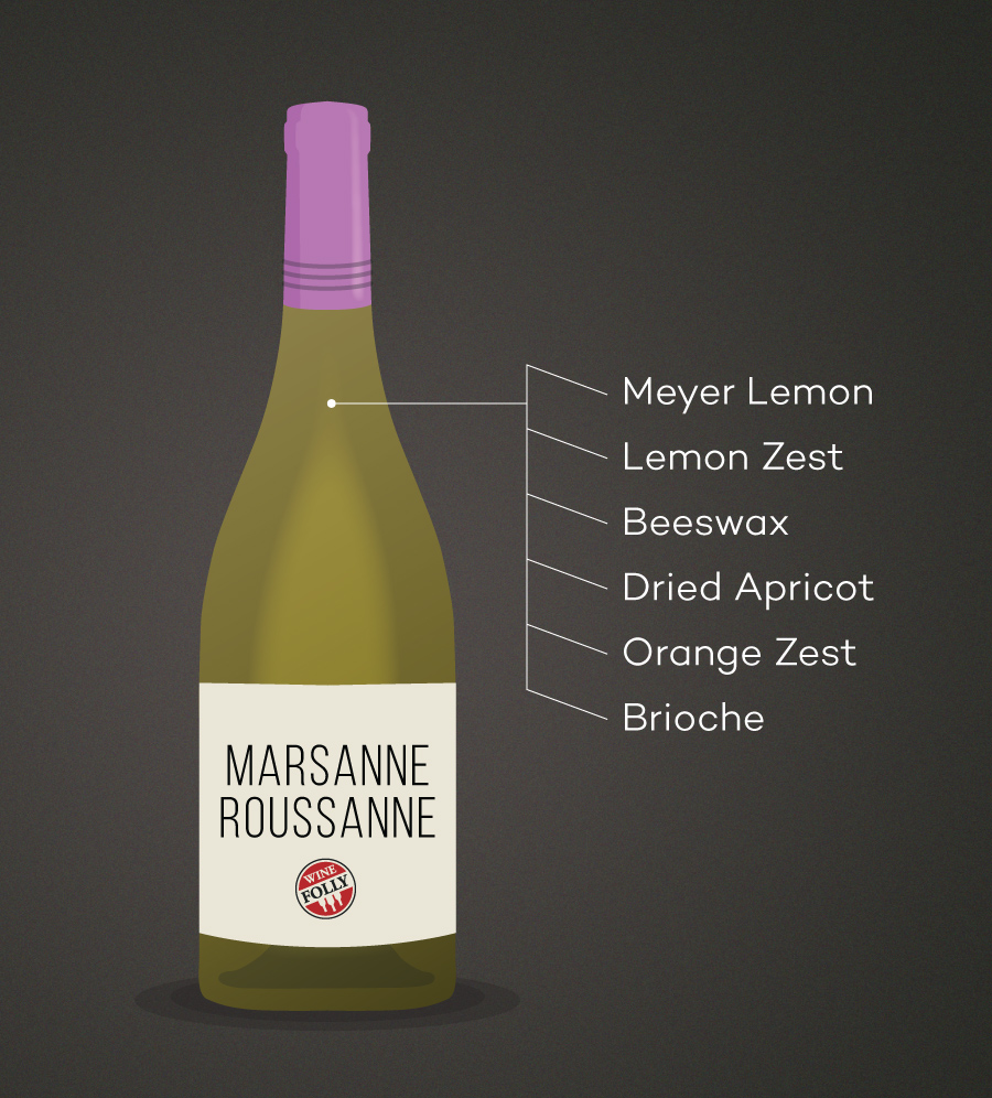 Marsanne Roussanne Wine Tasting Notes