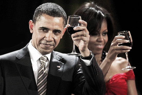 michelle-and-barack-obama-red-wine-lover