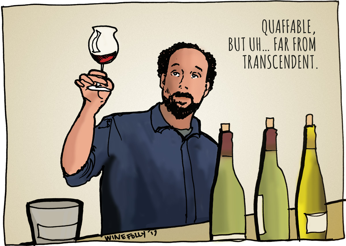 Miles Raymond of Sideways - Illustration by Wine Folly
