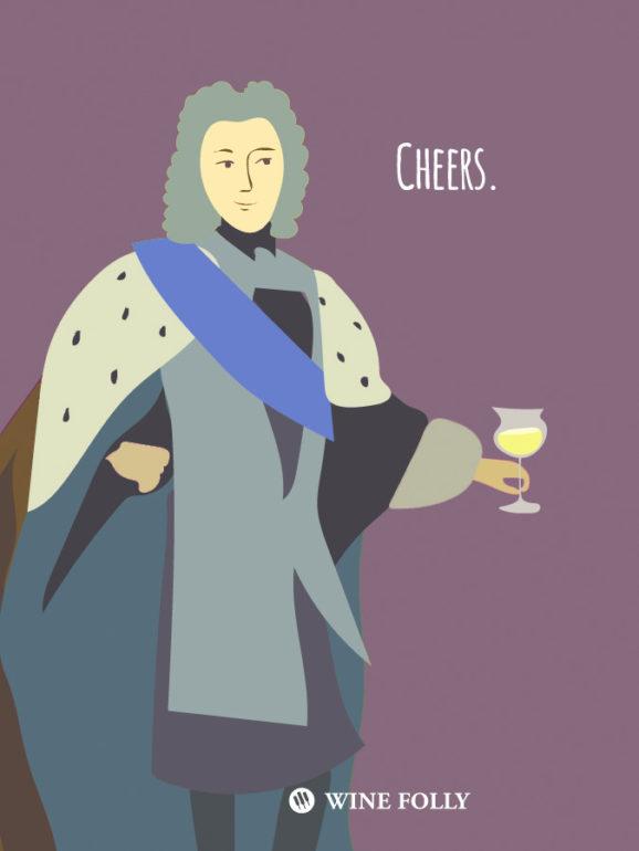 Cheers.  Hungarian Tokaji