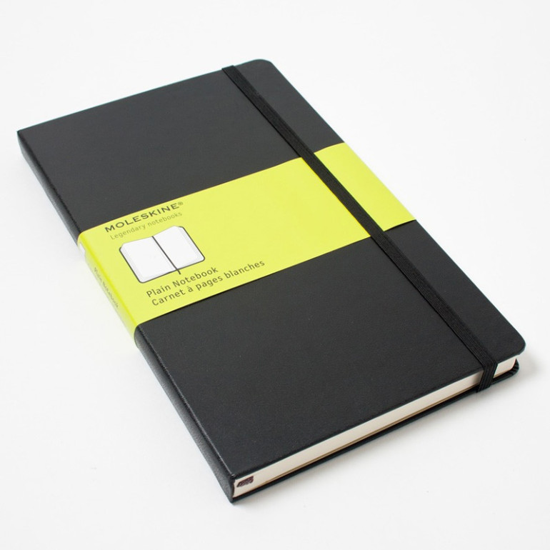 Moleskin notebook