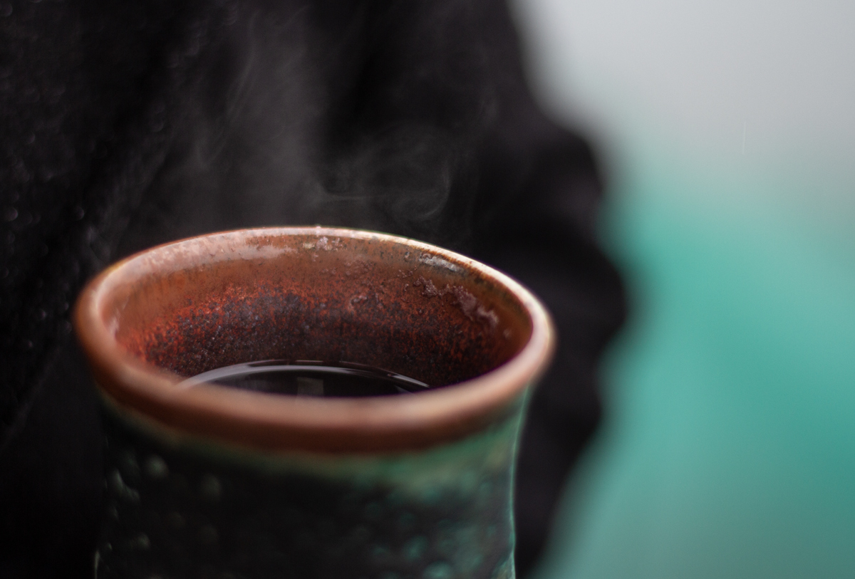 Mulled Wine - and steam in pottery cup - Wine Folly
