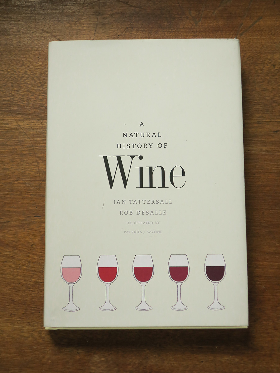 Natural History of Wine Book
