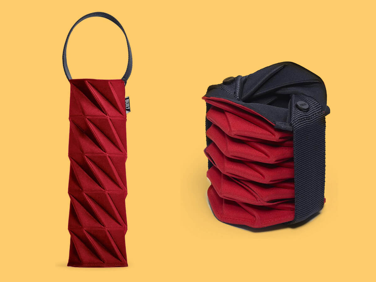 Neoprene wine carrier by Built NY - gifts for wine lovers